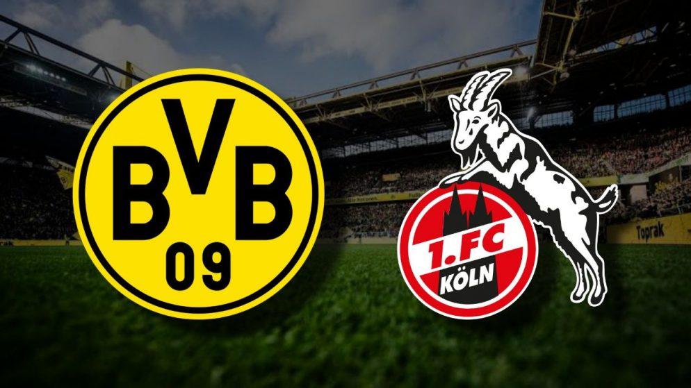 Apostas Borussia Dortmund x Colônia Bundesliga 28/11/2020