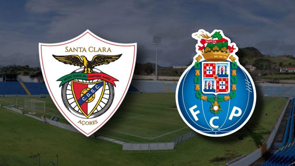 Apostas Santa Clara x FC Porto Campeonato Português 28/11/2020