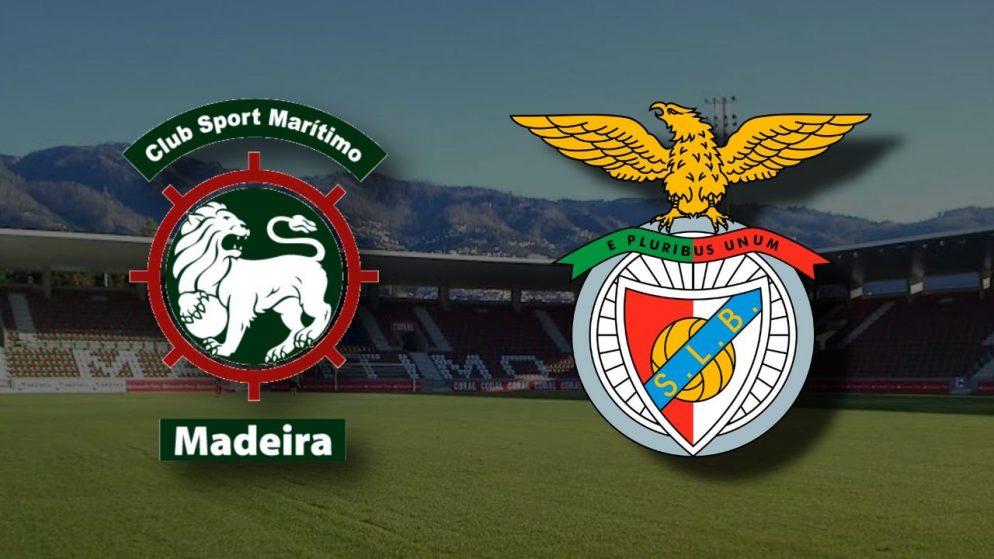 Apostas Marítimo x Benfica Campeonato Português 30/11/2020
