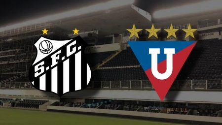 Apostas Santos x LDU de Quito Libertadores da América 01/12/2020