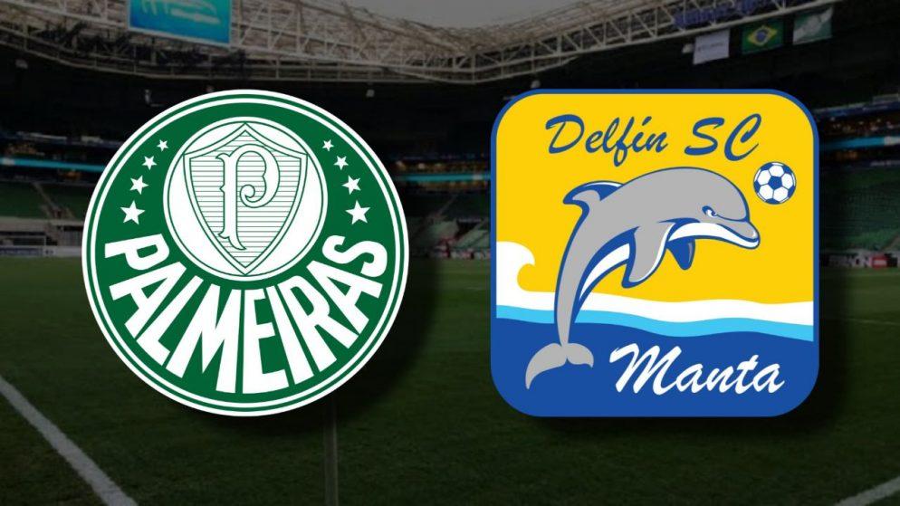 Apostas Palmeiras x Delfín Libertadores da América 01/12/2020