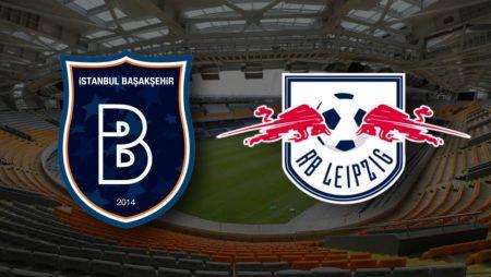 Apostas İstanbul Başakşehir x RB Leipzig Liga dos Campeões 02/12/2020