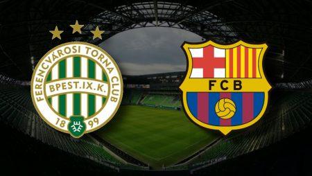 Apostas Ferencváros x Barcelona Liga dos Campeões 02/12/2020