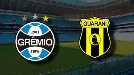 Apostas Grêmio x Guaraní Libertadores da América 03/12/2020