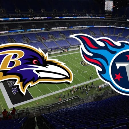 Apostas Ravens x Titans NFL 22/11/2020