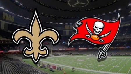 Apostas Saints x Buccaneers NFL 17/01/2021