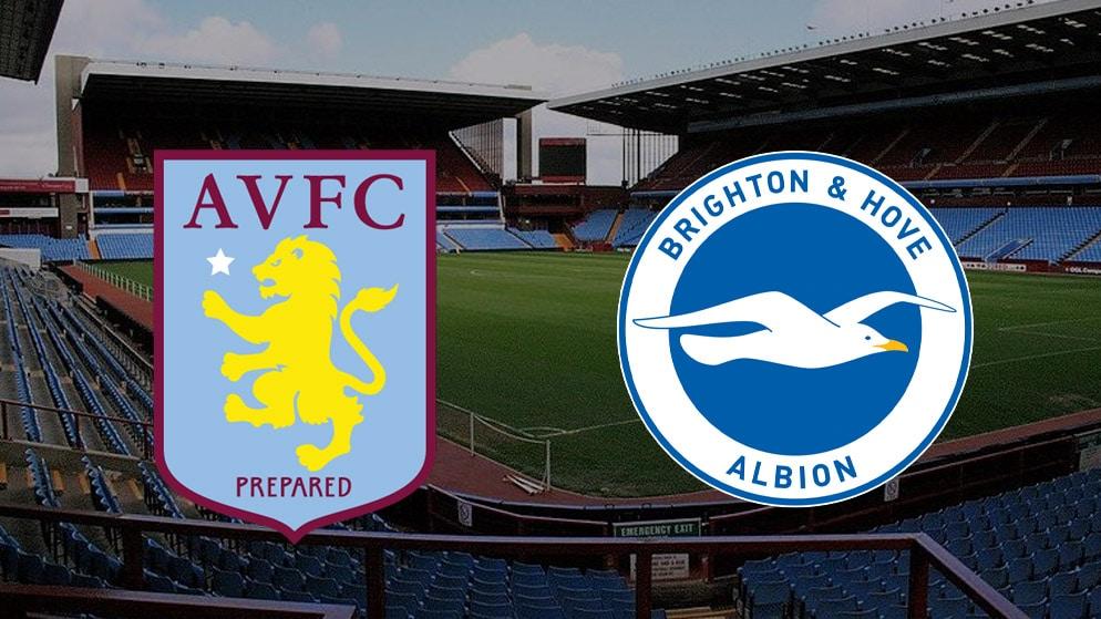 Apostas Aston Villa x Brighton Premier League 21/11/20