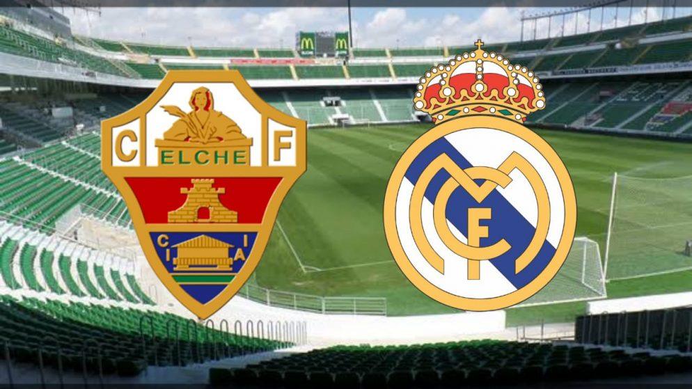 Apostas Elche x Real Madrid La Liga 30/12/2020