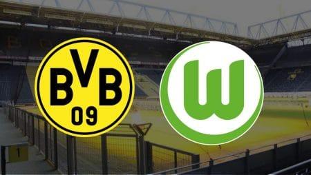 Apostas Borussia Dortmund x Wolfsburg Bundesliga 03/01/2021