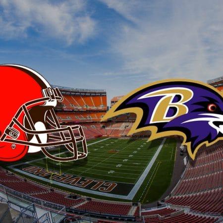 Apostas Browns x Ravens NFL 14/12/2020