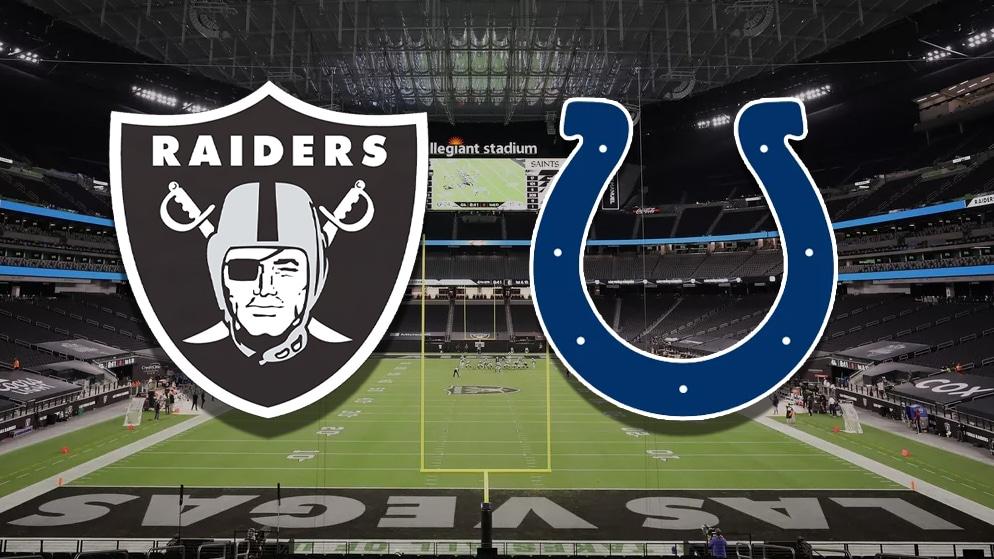 Apostas Raiders x Colts NFL 13/12/2020