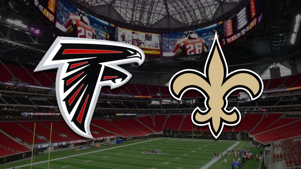 Apostas Falcons x Saints NFL 06/12/2020