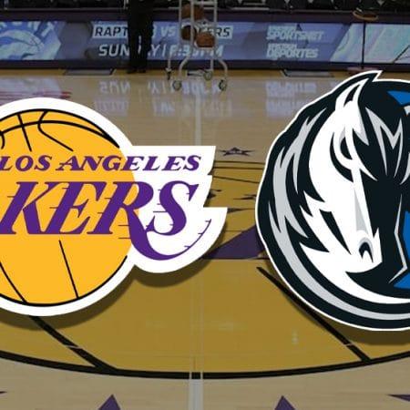 Apostas Lakers x Mavericks NBA 25/12/2020
