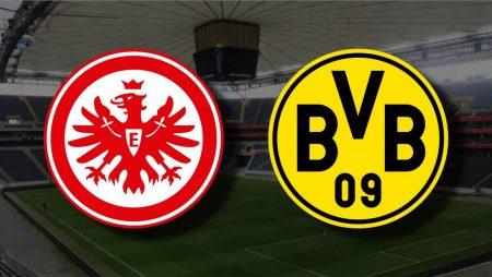 Apostas Eintracht Frankfurt x Borussia Dortmund Bundesliga 2020/21