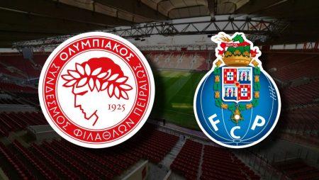 Apostas Olympiakos x FC Porto Liga dos Campeões 09/12/2020