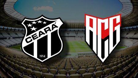 Apostas Ceará x Atlético-GO Brasileirão 12/12/2020