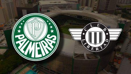 Apostas Palmeiras x Libertad Libertadores da América 15/12/2020