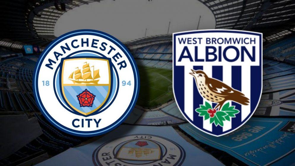 Apostas Manchester City x West Bromwich Premier League 15/12/2020