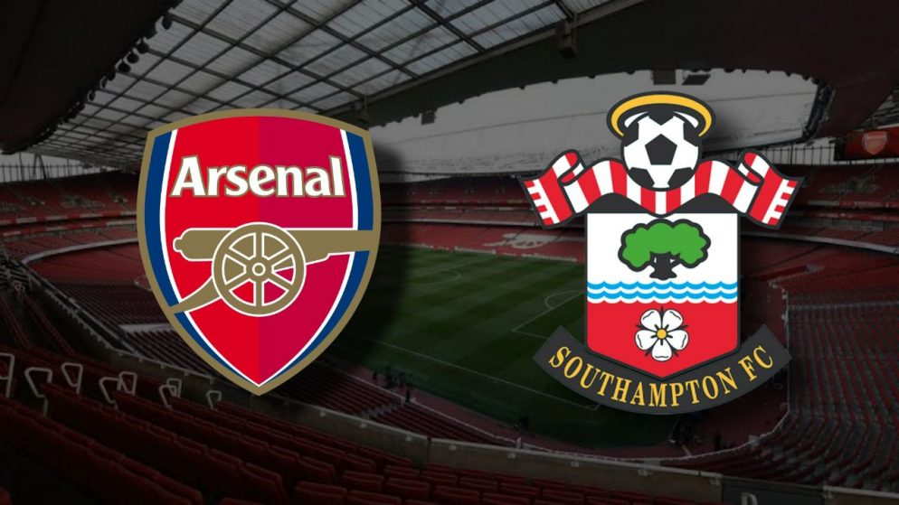 Apostas Arsenal x Southampton Premier League 16/12/2020