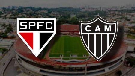 Apostas São Paulo x Atlético Mineiro Brasileirão 16/12/2020