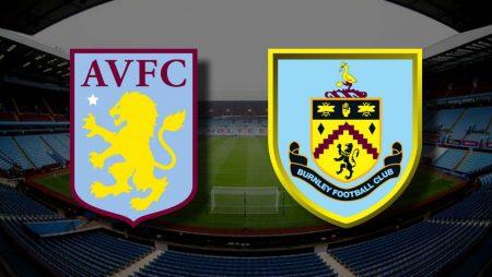 Apostas Aston Villa x Burnley Premier League 17/12/2020