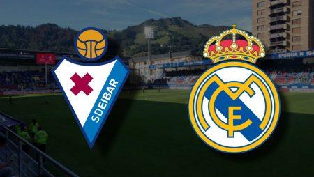 Apostas Eibar x Real Madrid La Liga 20/12/2020