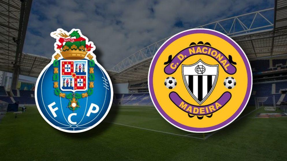 Apostas FC Porto x Nacional Campeonato Português 20/12/2020