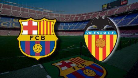 Apostas Barcelona x Valencia La Liga 19/12/2020