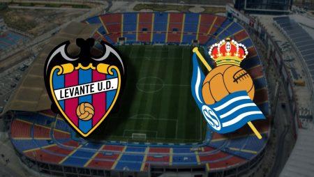 Apostas Levante x Real Sociedad La Liga 19/12/2020