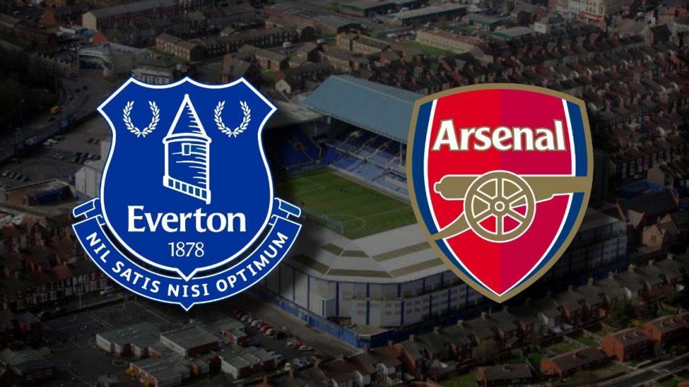 Apostas Everton x Arsenal Premier League 19/12/2020