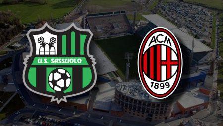 Apostas Sassuolo x Milan Campeonato Italiano 20/12/2020