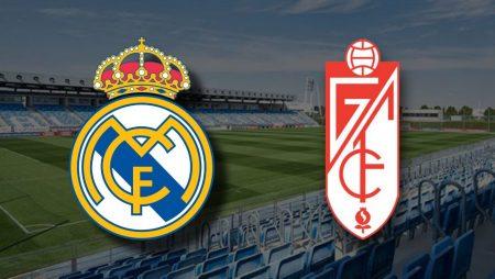Apostas Real Madrid x Granada La Liga 23/12/2020