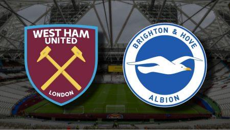 Apostas West Ham x Brighton Premier League 27/12/2020