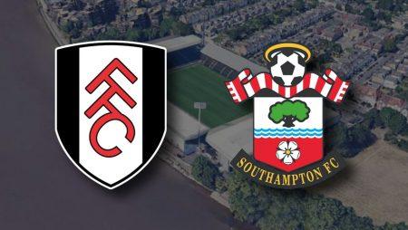 Apostas Fulham x Southampton Premier League 26/12/2020