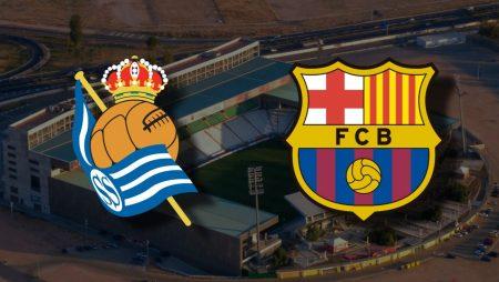 Apostas Real Sociedad x Barcelona Supercopa da Espanha 13/01/2021