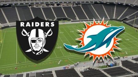 Apostas Raiders x Dolphins NFL 26/12/2020