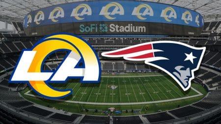 Apostas Rams x Patriots NFL 10/12/2020