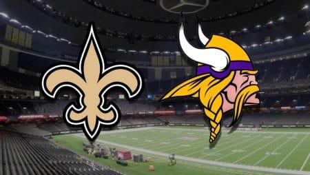 Apostas Saints x Vikings NFL 25/12/2020