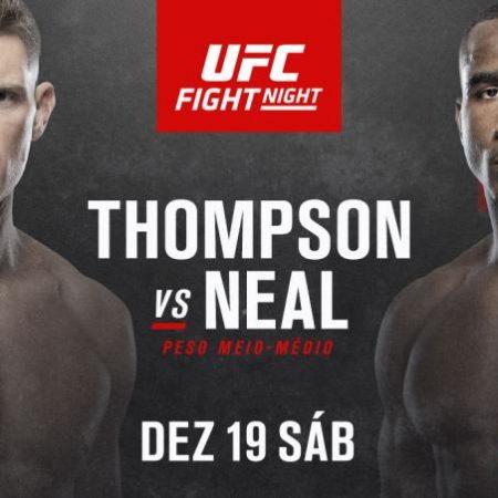Apostas UFC Fight Night Vegas 17: Stephen Thompson x Geoff Neal 19/12/2020