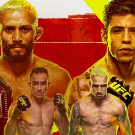 Apostas UFC 256 Deiveson Figueiredo x Brandon Moreno 12/12/2020