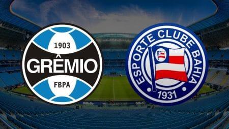 Apostas Grêmio x Bahia Brasileirão 06/01/2021