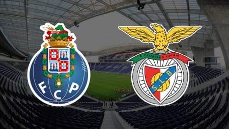 Apostas FC Porto x Benfica Campeonato Português 15/01/2021