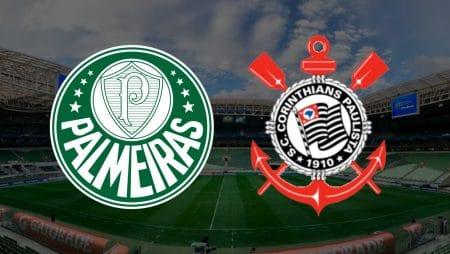 Apostas Palmeiras x Corinthians Brasileirão 18/01/2021