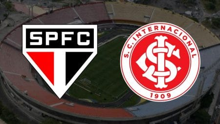 Apostas São Paulo x Internacional Brasileirão 20/01/2021