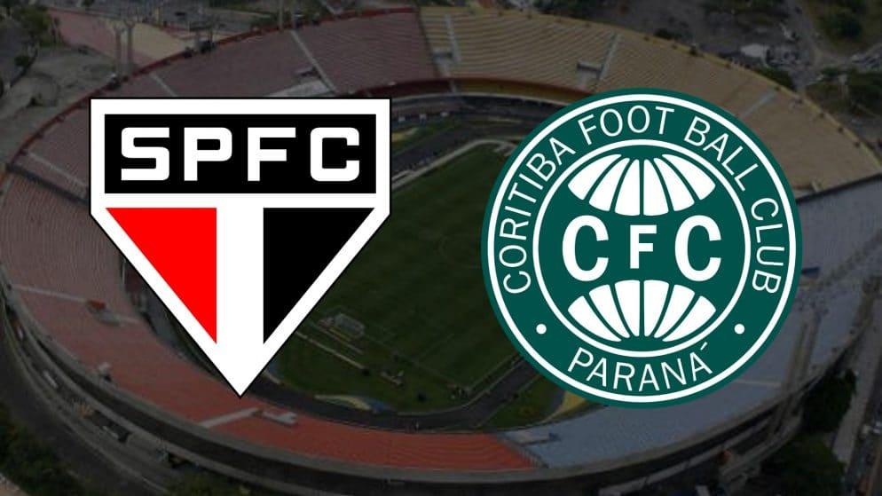Apostas São Paulo x Coritiba Brasileirão 23/01/2021