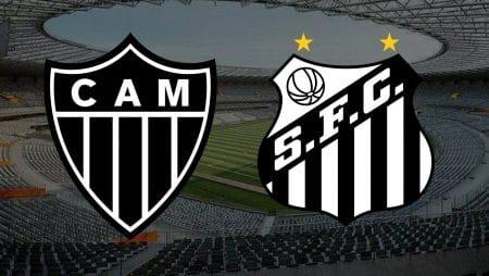 Apostas Atlético Mineiro x Santos Brasileirão 26/01/2021