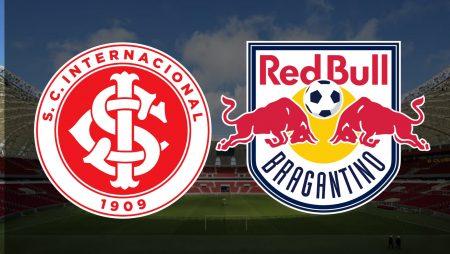 Apostas Internacional x Red Bull Bragantino Brasileirão 31/01/2021