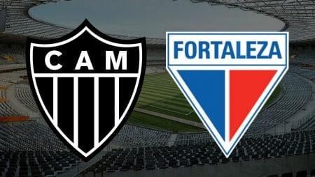 Apostas Atlético Mineiro x Fortaleza Brasileirão 31/01/2021