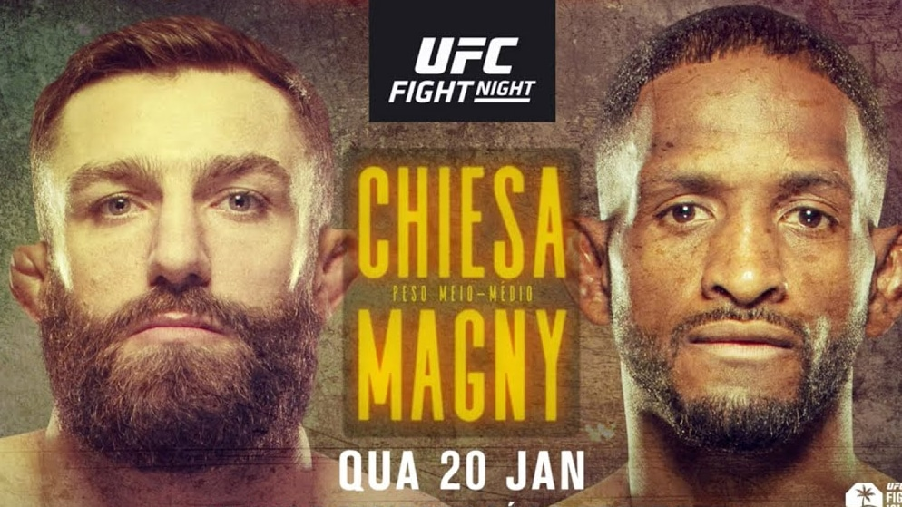 Apostas UFC Chiesa x Magny 20/01/2021