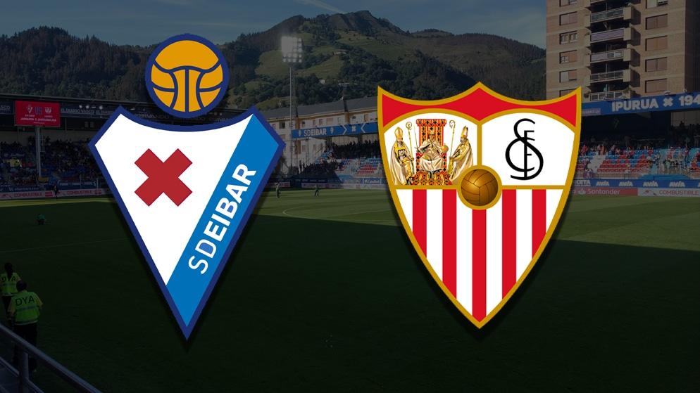 Apostas Eibar x Sevilla La Liga 30/01/2021